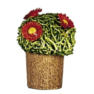Blumentopf mit Blüten
