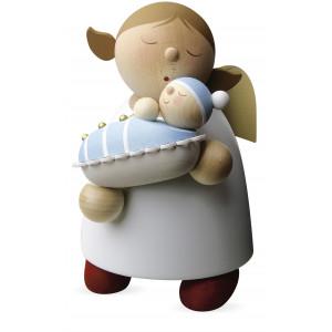 Schutzengel mit Baby - Junge, groß