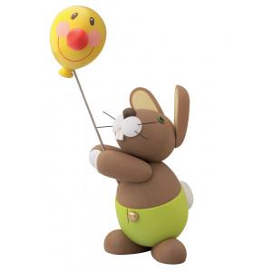 Hosen Hase Holger mit Ballon