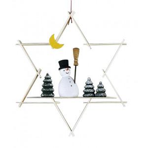 Baumbehang Form Schneemann