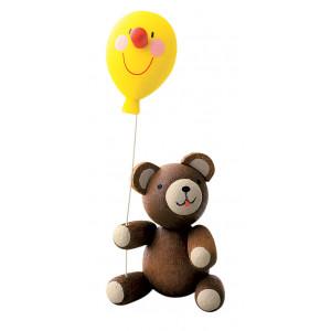 Glücksbärchen mit Luftballon