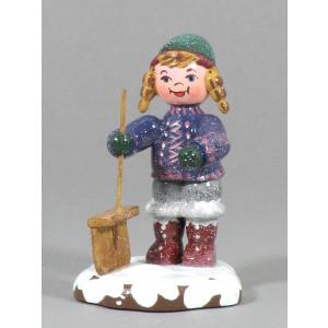 Winterkinder Schneefeger