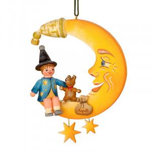 Baumbehang Sandmann mit Teddy und Mond