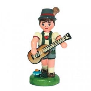 Musikkind Junge mit Gitarre