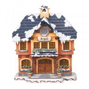 Winterkinder Winterhaus Schule
