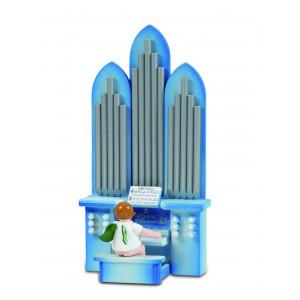 Orgel mit Engel mit Spielwerk