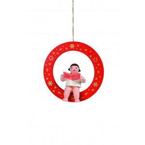 Engel Sänger im roten Ring