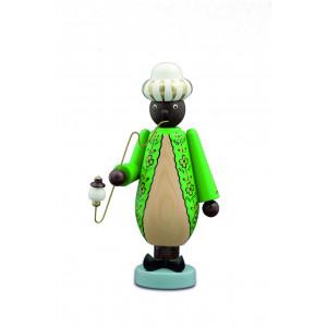Räuchermann Mohr, grün