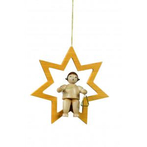 Engel im Stern ohne Triangel natur