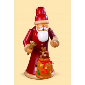 Müller Räuchermännchen Weihnachtsmann mit Geschenken