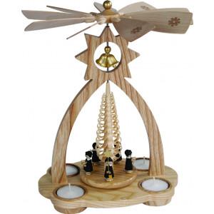Glockenpyramide für Teelichte, Kurrende