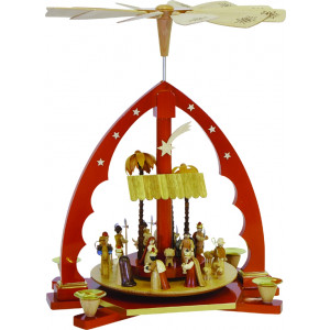 Pyramide Christi Geburt, natur