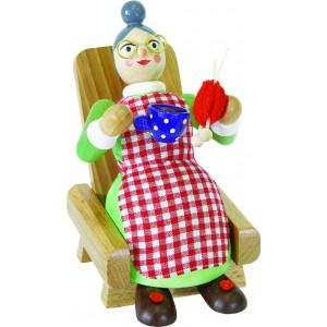 Räucherfrau Oma