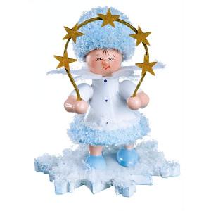 Schneeflöckchen mit Sternenbogen