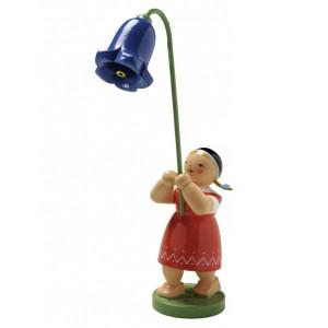 Mädchen mit Glockenblume
