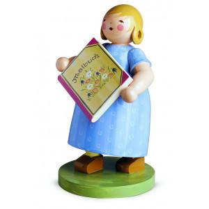 Mädchen mit Malbuch