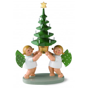 Engelgruppe mit Baum