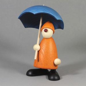 Gratulant Charlie mit Schirm, gelb
