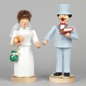 Räucherfiguren Brautpaar