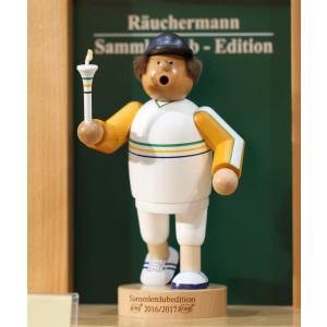 Sammlerclub-Edition 2016/2017 Räuchermännchen Olympischer Fackelläufer
