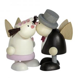 Engel Hans & Lotte als Braut & Bräutigam