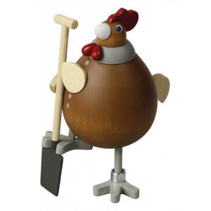 Hühnerei & Hahn Die fleißige Rosemarie
