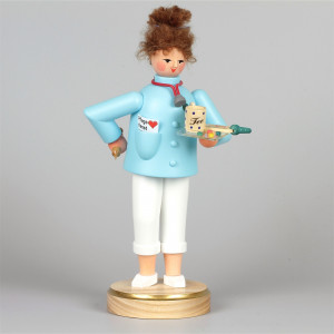 Räucherfrau Seniorenpflegerin