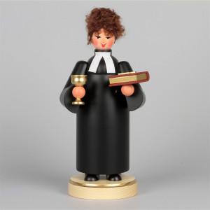 Räucherfrau evangelische Pfarrerin