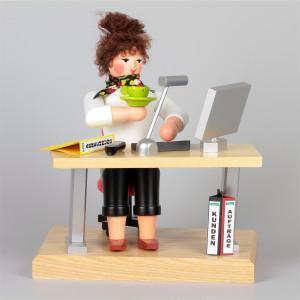 Räucherfrau Sekretärin