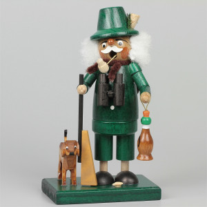 Räuchermann Förster mit Hund