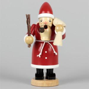Olbernhauer Räuchermann Weihnachtsmann farbig, klein
