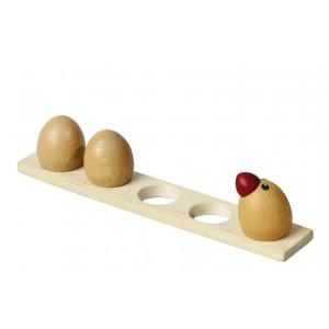 Hühnerei & Hahn Eierbord