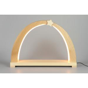 LED-Schwibbogen zum selbst Bestücken, klein