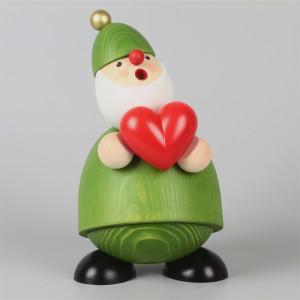Räuchermann Picus mit Herz