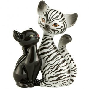Kitty de luxe Katze Zebra in Love, 18,0 cm
