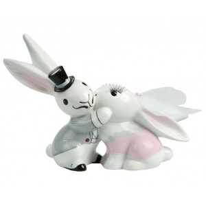 Bunny de luxe Wedding Bunny in Love