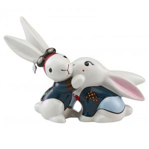 Bunny de luxe Biker Bunny in Love