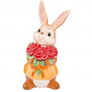 Osterhase Rote Rosen für Dich