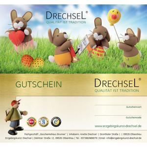 Geschenkgutschein - Ostern