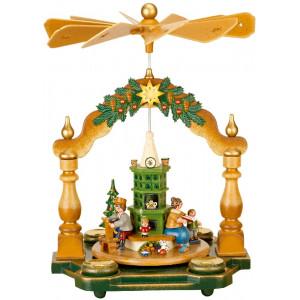 Pyramide Großmutters Weihnachtsstube