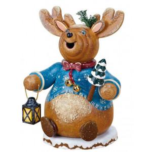 Winterkinder Räucherwichtel Rentier Rudolph