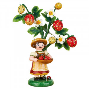 Hubrig Jahresfigur Herbstkind 2014 Erdbeere limitiert