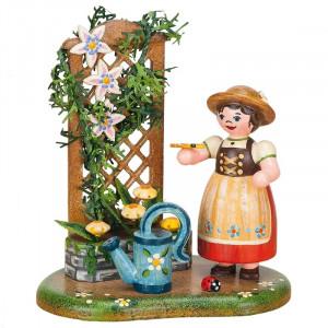 Rund um den Garten Sommerblumenranke
