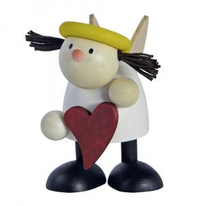 Engel Lotte stehend mit Herz