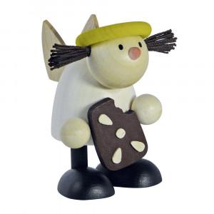 Engel Lotte mit Pfefferkuchen