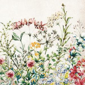 Tischservietten Wildblumenwiese