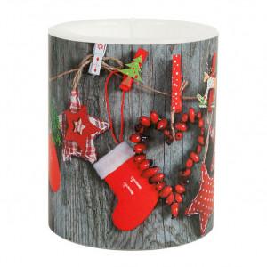 Kerze Weihnachtsgirlande