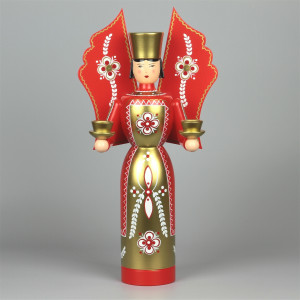 Engel rot groß, 36 cm
