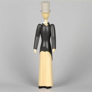 Jahresfigur Wilhelm, 29 cm