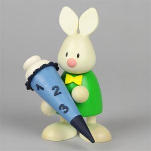 Osterhase Kaninchen Max mit Zuckertüte